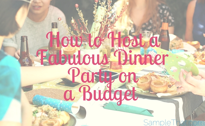 How To Host A Dinner Party Prepossessing Of SampleThat blog how to host a fabulous dinner party on a budget  Pictures