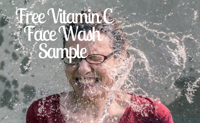 Free Vitamin C Face Wash Sample