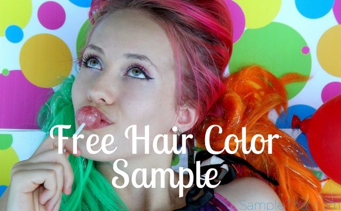 Free Hair Color Sample