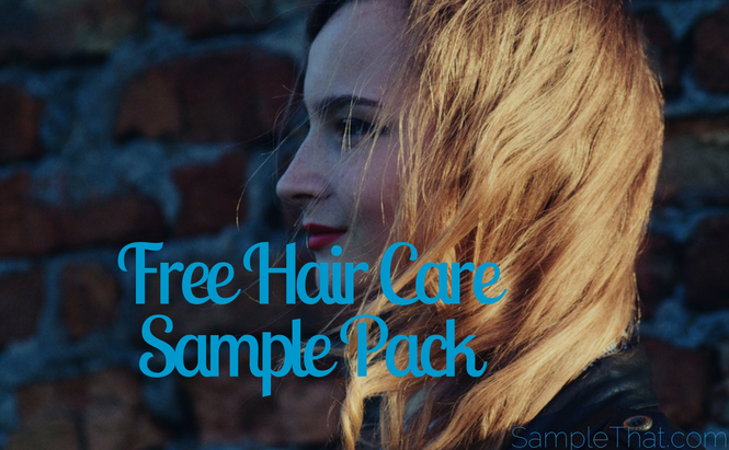 Free Haircare Sample Pack