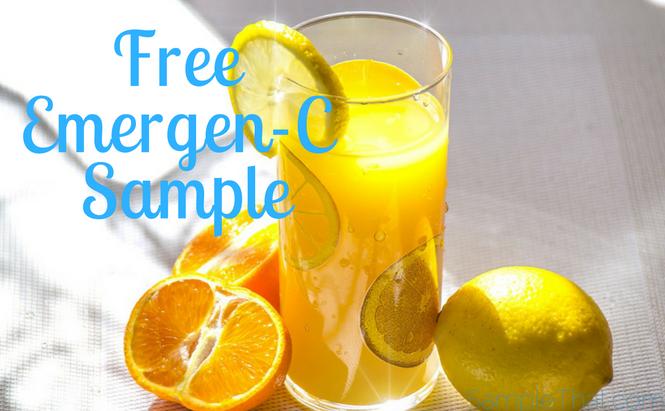 Free Emergen-C Samples