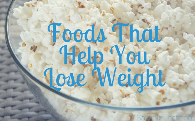 Foods That Help You Lose Weight