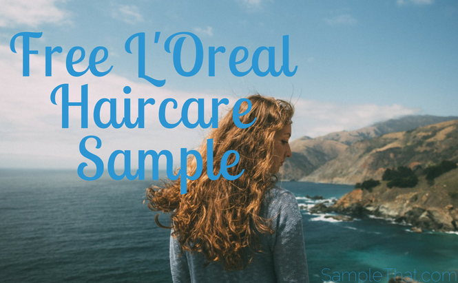 Free L'Oreal Haircare Sample
