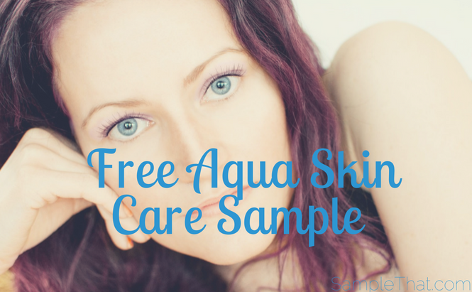 Free Aqua Skin Care Sample
