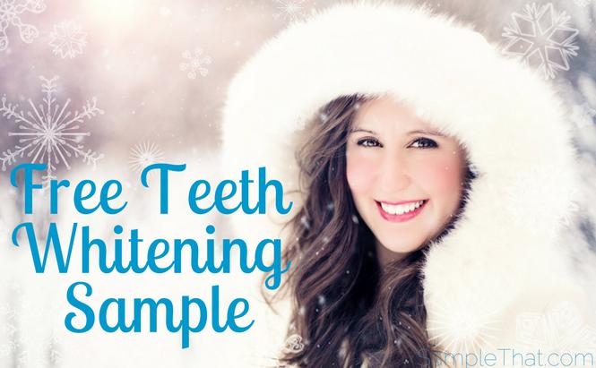 Free Teeth Whitening Sample