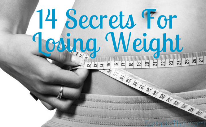 14 Secrets For Losing Weight
