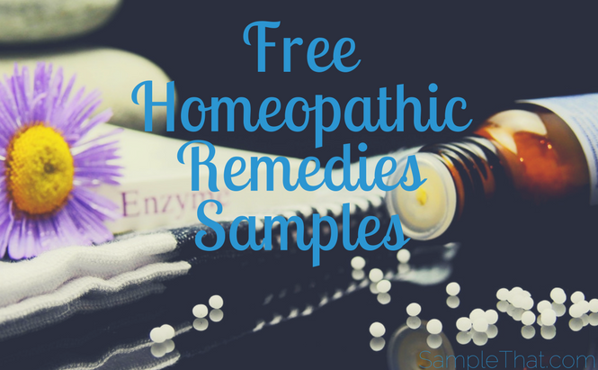 Free Homeopathic Remedies Samples