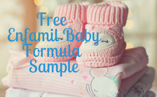 Free Enfamil Baby Formula Sample