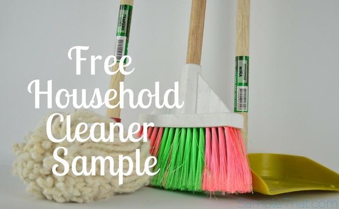 Free Household Cleaner Sample
