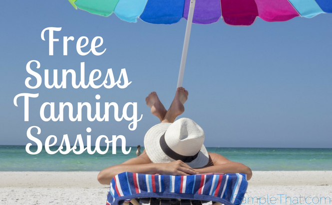 Free Sunless Tanning Session