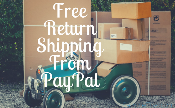 Free Return Shipping From PayPal