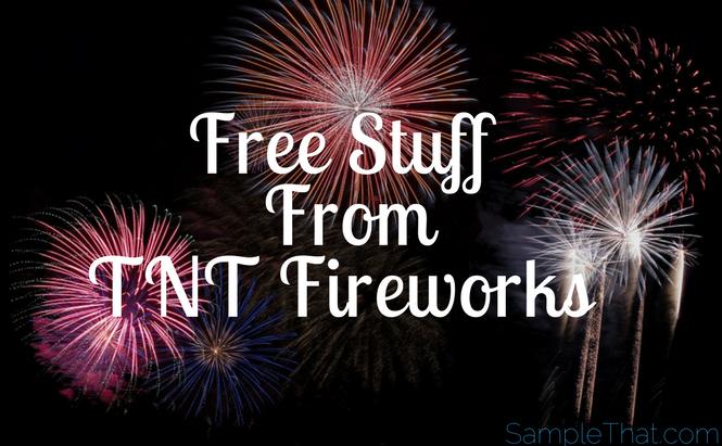 Free Stuff From TNT Fireworks