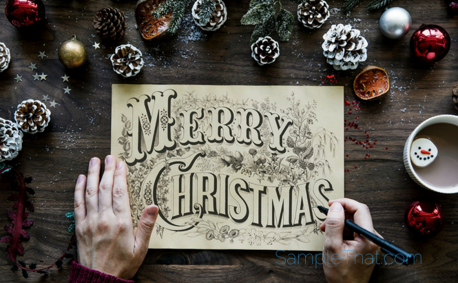 Free christmas card templates samplethat solutioingenieria Images