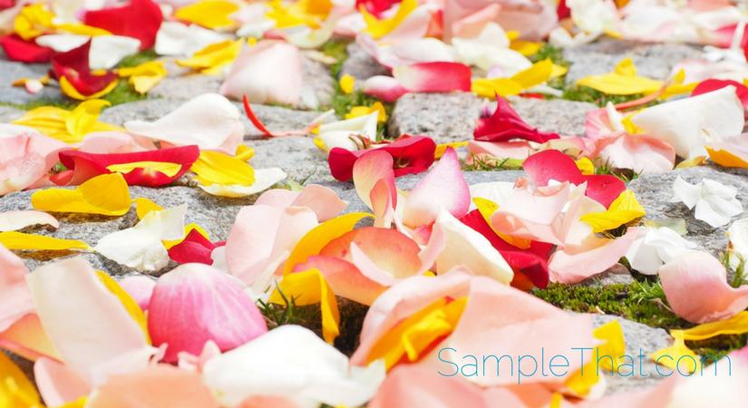 Free Silk Rose Petals Sample