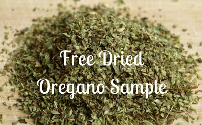 Free Jar Of  Oregano