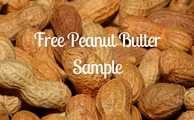Free Peanut Butter Sample