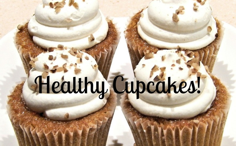 SampleThat post template healthy cupcakes