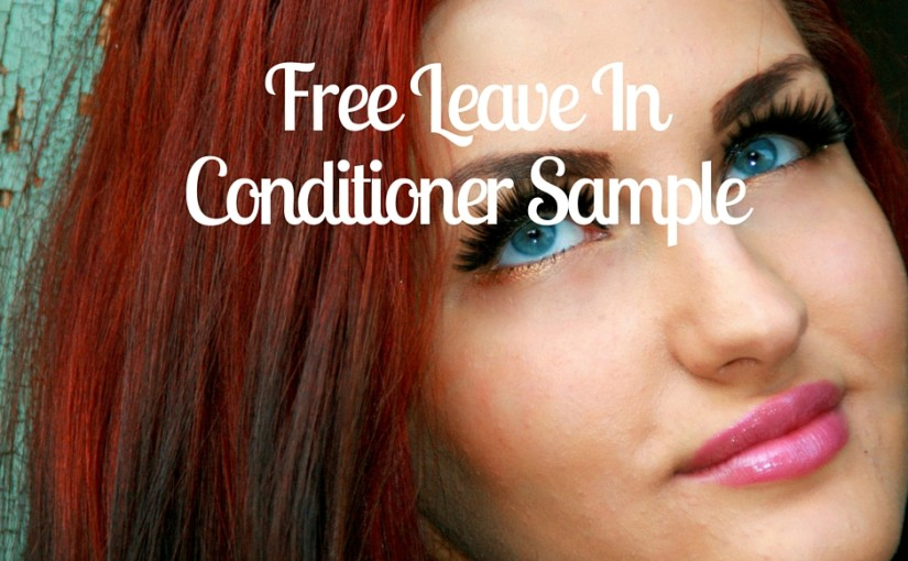 SampleThat post template leave in conditioner