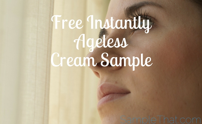 Free Instantly Ageless Cream Sample