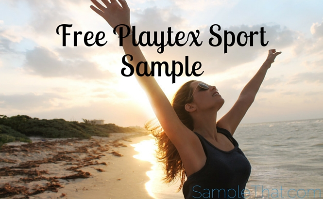 Playtex Sport Samples