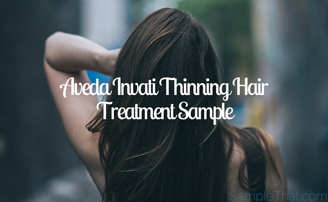 Thinning Hair Treatment Sample