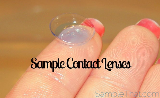 Sample Contact Lenses from Acuvue