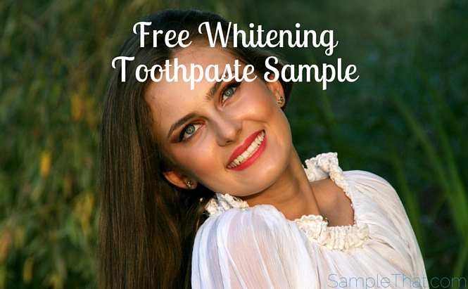 Free Arm & Hammer Toothpaste Sample