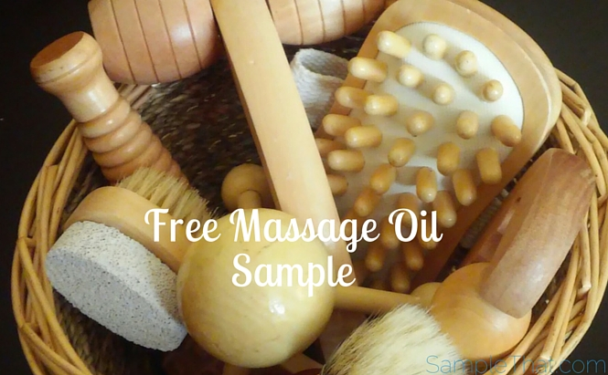 Free Massage Oil Sample