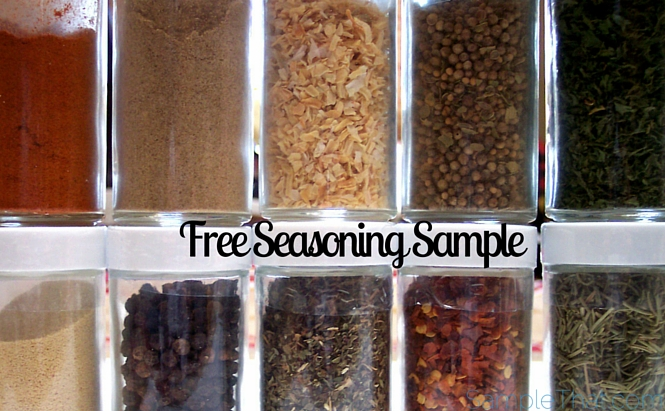 Free Seasoning Sample