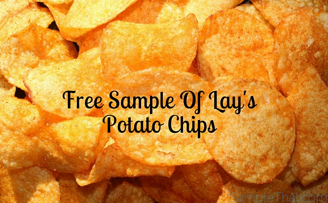 Free Bag of Lay's Chips