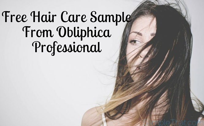Professional Hair Product Sample