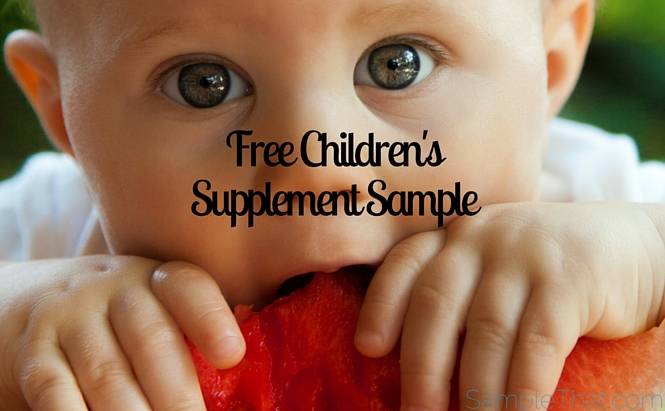 Free Children's Supplement Sample