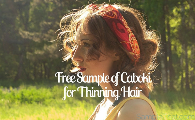 free sample of caboki for thinning hair get thicker fuller hair haircare samplethat