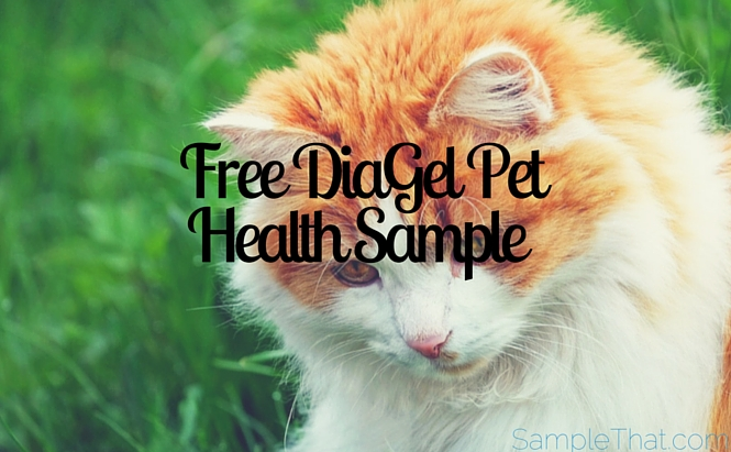 Free DiaGel Pet Health Sample