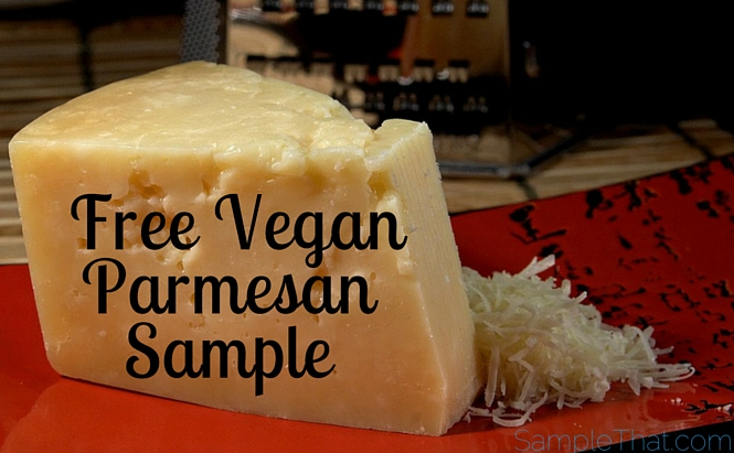 Free Vegan Parmesan Sample