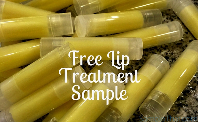 Free Lip Treatment Sample