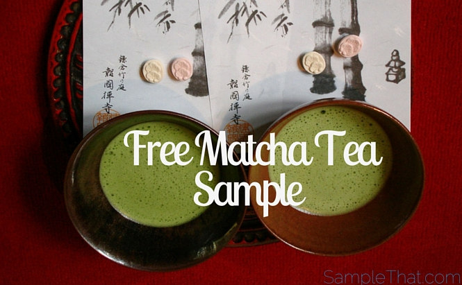 Free Matcha Tea Sample