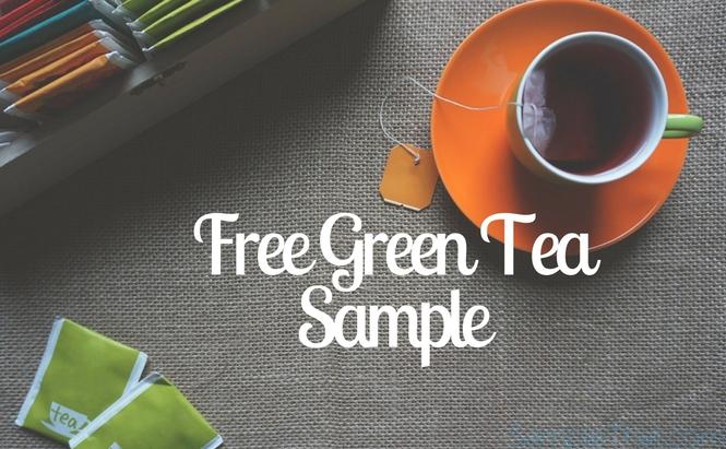 Free Green Tea Sample