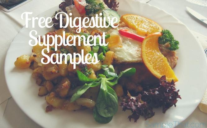 Free Digestive Supplement Sample