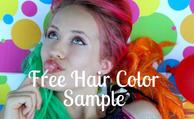 Free Hair Color Sample