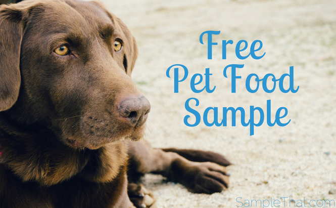 Free Pet Food Sample