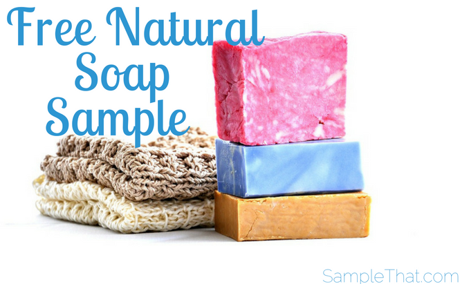 Free Natural Soap Sample