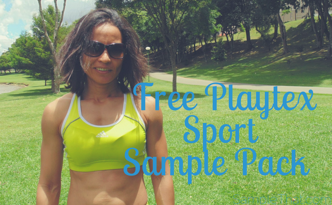 Free Playtex Sport Sample Pack