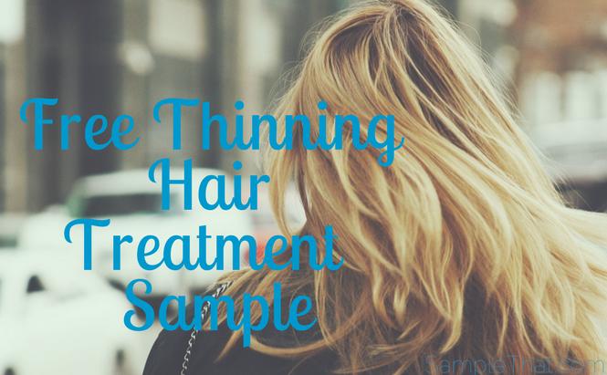 Free Thinning Hair Treatment Sample