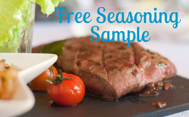 Free Seasoning Sample