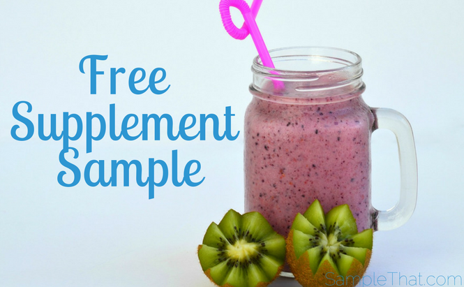 Free Nutrition Supplement Sample
