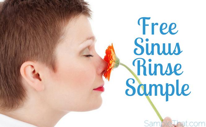 Free Sinus Rinse Sample