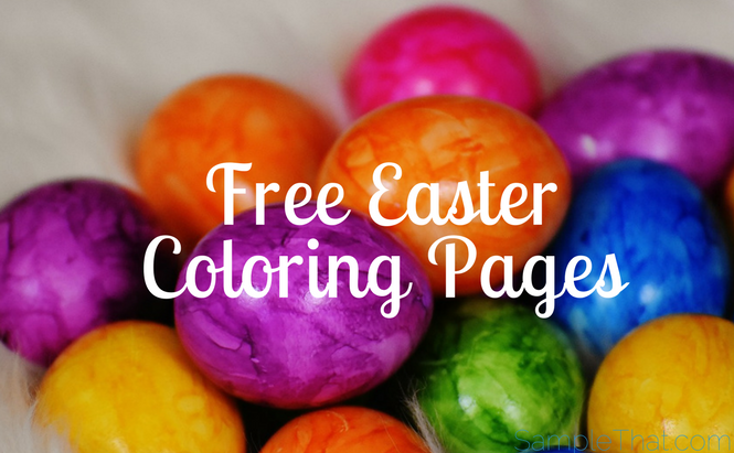 Free Easter Coloring Pages