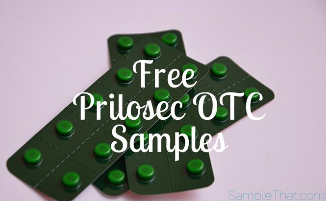 Free Prilosec OTC Samples