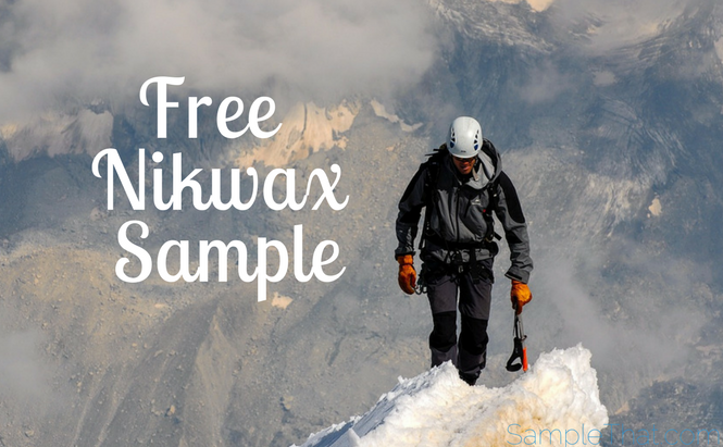 Free Nikwax Sample